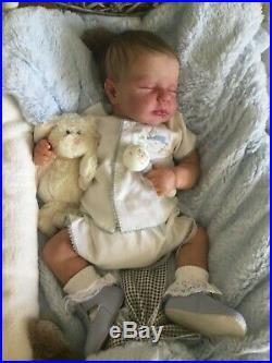 Loulou by Joanna Kazmierzak reborn baby doll