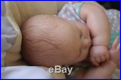 Lovely Reborn June 7 Months Realborn 10lb 4oz Baby Girl Doll Nubornz Nursery