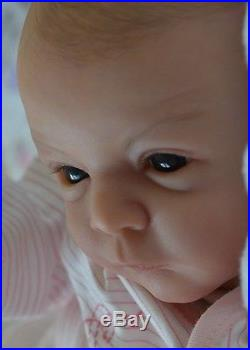 MARIAN ROSS Reborn Baby Girl Doll LINDEA Gudrun Legler NEW RELEASE