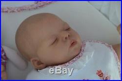 MARIAN ROSS Reborn Newborn Baby Girl Doll TIA BONNIE SIEBEN Limited Edition