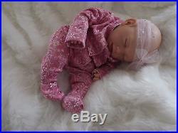 MARY REBORN GIRL DOLL Real Lifelike Motled Newborn Fake Baby Child Birthday Xmas