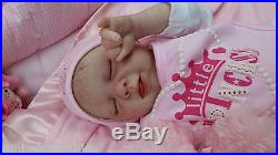 Michelle Fagan Reborn Baby Girl Doll With Cute Tongue Detail Great Bargain Price