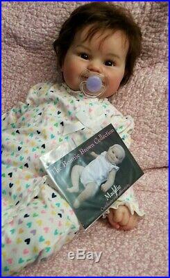 Maddie Reborn doll by Bonnie Brown