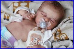 Magnolia Dream Doll Reborn baby girl Odessa by laura Lee Eagles 18'' COA