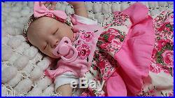 Marissa May Precious Baby Girl, Reborn By Sunbeambabies Very Realistic