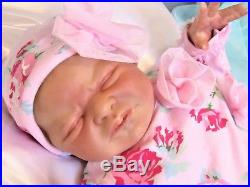 Miracle Reborn/Realborn Vinyl Doll by Laura Lee Eagles Limited Edition