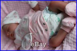 NEW REALISTIC REALBORN BABY JAXSON 5lbs 5oz SUNBEAMBABIES REBORN DOLL GHSP
