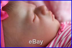 NEW REALISTIC REALBORN BABY JAYCEE 5lbs 6oz SUNBEAMBABIES REBORN DOLL GHSP