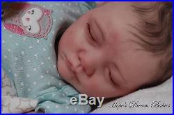 NEW RELEASE Reborn MIRANDA ooak fake baby lifelike vinyl art ARTIST doll so real