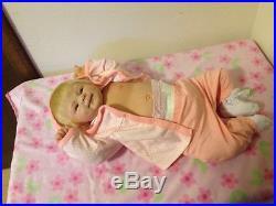 NEW SWEET REBORN BABY GIRL COCO MALU, Elisa Marx Doll, Soft Vinyl, HTF