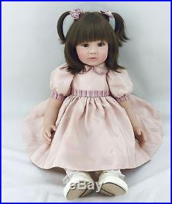New 22 Handmade Vinyl Silicone Reborn Baby Doll Lifelike Doll Girl Gift Jessica