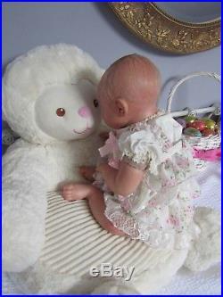 Noah Asleep by Reva Schick, vinyl reborn doll, 21 inches 5.7 pounds