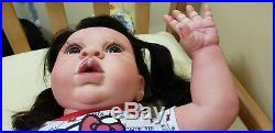 OOAK life like reborn toddler art doll
