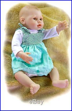 OtardDolls lifelike reborn doll 16 reborn baby doll full soft vinyl body