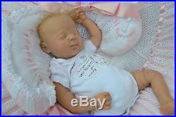 PJs ADORABLE JOSIE BY PING LAU LIFELIKE REBORN NEWBORN BABY GIRL DOLL