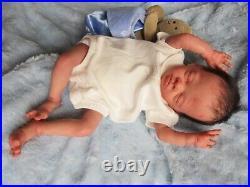 POPPY- Reborn Doll BONNIE BROWN Baby BOY