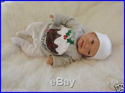 PUDDING BZLS Real Reborn Doll Fake Baby Child Lady Girl Birthday Xmas Gift CE