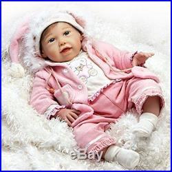 fc2407db3925 Paradise Galleries Realistic Handmade Reborn Baby Doll Newborn Cuddle Bear  Bella