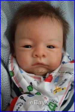 Pbn Yvonne Etheridge Reborn Baby Doll Boy Sculpt River By Toby Morgan 0119