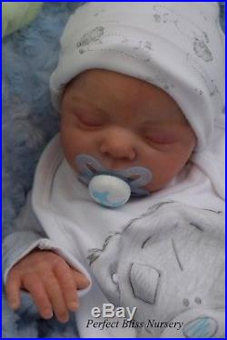 Pbn Yvonne Etheridge Reborn Doll Baby Boy Luxe By Cassie Brace 0918