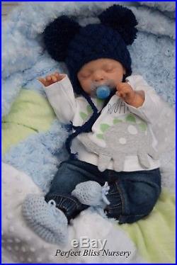 Pbn Yvonne Etheridge Reborn Doll Baby Boy Luxe By Cassie Brace 1018