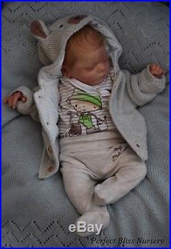 Pbn Yvonne Etheridge Reborn Doll Baby Boy Luxe By Cassie Brace 1218