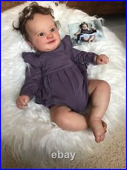 Pre-owned Maddie by Bonnie Brown Reborn Baby Doll