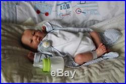 Preemie La Berenguer Reborn Fake Baby Doll Thomas