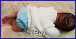 Preemie reborn baby Doll MICK by Adrie Stoete