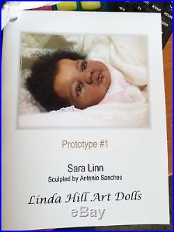 Prototype #1 Sara Linn by Antonio Sanchis Reborn by Linda Hill Art Dolls