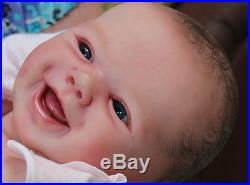 Prototype Reborn Baby Girl Doll Jewls Sam's Reborn Nursery
