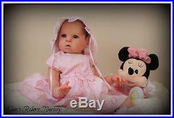 Prototype Reborn Toddler Baby Girl Doll Vanessa Sam's Reborn Nursery
