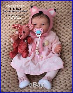 Prototype YUKI reborn doll Jannie de Lange