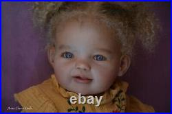 Prototype reborn toddler Solane lifelike art baby doll by Anna Sheva IIORA