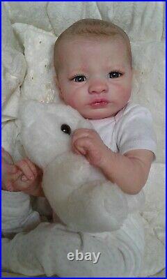 Queen's Crib Ooak Reborn Baby Girl Doll Princess! Big Sale! Presley Kit