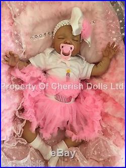 Reborn Baby Birthday Doll Real Girl Beth Realistic 22 Newborn Lifelike Hair