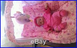 Reborn Baby Doll Max Full Vinyl Torso Sweet Baby Only 14 Ins Preemie