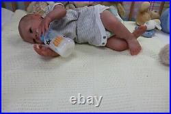 REBORN BABY DOLL PAISLEY D PRATT NICE BOX OPENING ARTIST OF 9yrs MARIE GHSP