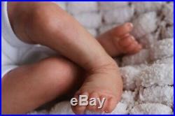 REBORN BABY DOLL PREEMIE PREMATURE TEAGAN ARTIST OF 9yrs MARIE (Outfit varies)