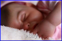 REBORN BABY DOLL PUDDIN NOW PENNY HANDPAINTED BY ARTIST 9yrs SUNBEAMBABIES GHSP