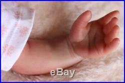 REBORN BABY DOLL PUDDIN NOW POPPY HANDPAINTED BY ARTIST 9yrs SUNBEAMBABIES GHSP