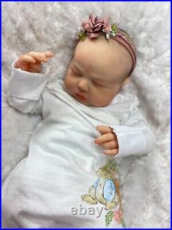 REBORN BABY GIRL ART DOLL 21inch TESSA REALBORN AUTHENTIC REBORN UK ARTIST