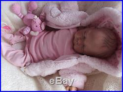 Reborn Baby Girl Bunny A Special Doll For A Special Gift Quality Custom Order