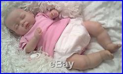REBORN BABY GIRL Child friendly NEWBORN DOLL fake babies Reduced price