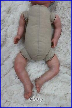 REBORN BABY NEW DOLL WAS POPPY UP TO 7lbs CHILD SAFE, FLOPPY SUNBEAMBABIES GHSP