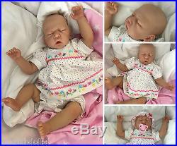 Reborn Doll Baby Girl Scarlett Realistic 20 Real Lifelike Childs Children Gift