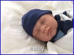 REBORN DOLL JED BOY Realistic Fake Baby Childs Birthday UK Artist Saxon Reborns