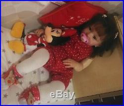 ReBORN toddler doll Bonnie, sculpt by Linda Murray
