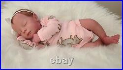 Realborn Callie Sleeping by Bountiful Baby