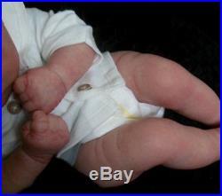 Realborn Girl Boy Reborn Collectable Baby doll art Salvadore (Auburn PH)